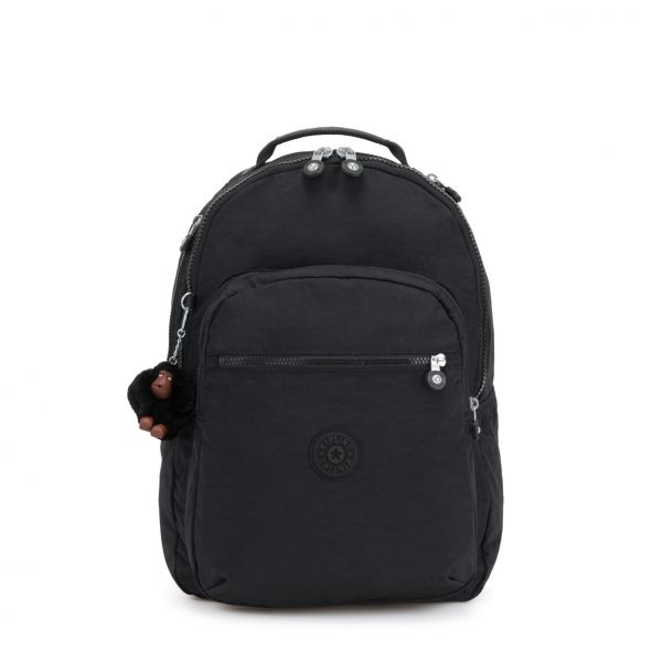 CLAS SEOUL True Black BACKPACKS by Kipling Front