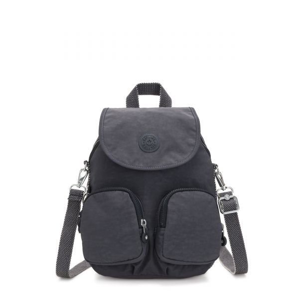 FIREFLY UP Night Grey BACKPACKS by Kipling Front