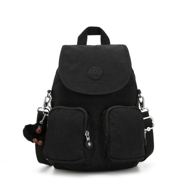 FIREFLY UP ESSENTIAL True Black BACKPACKS by Kipling Front