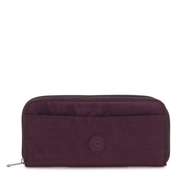 TRAVEL DOC Dark Plum TRAVEL ACCESSORIES by Kipling Front