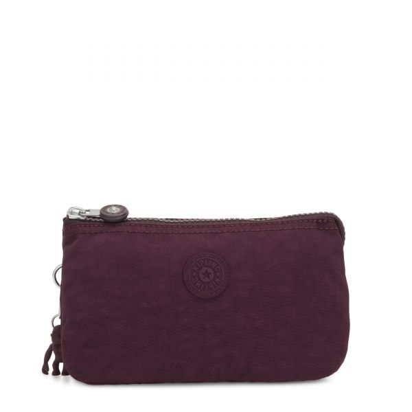 CREATIVITY L Dark Plum POUCHES/CASES by Kipling Front
