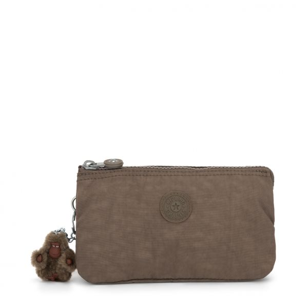 CREATIVITY L ESSENTIAL True Beige POUCHES / CASES by Kipling Front