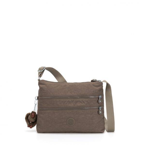 ALVAR ESSENTIAL True Beige CROSSBODY by Kipling Front