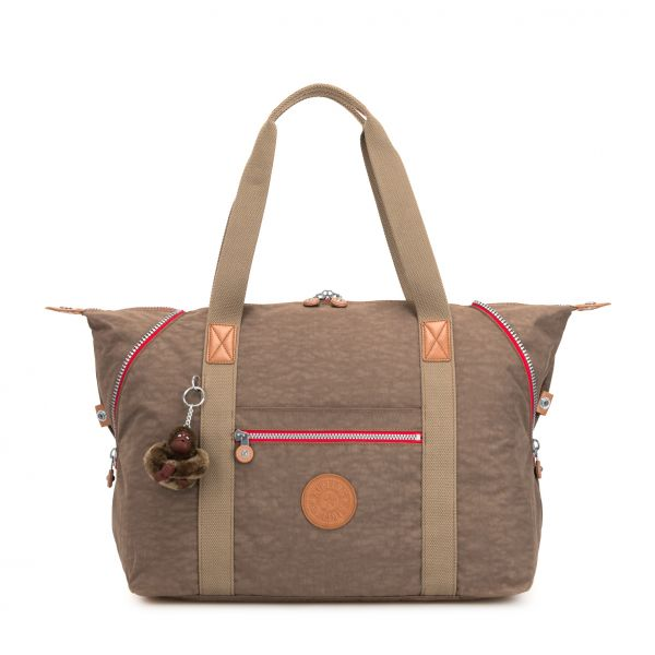 ART M True Beige C TOTE by Kipling Front
