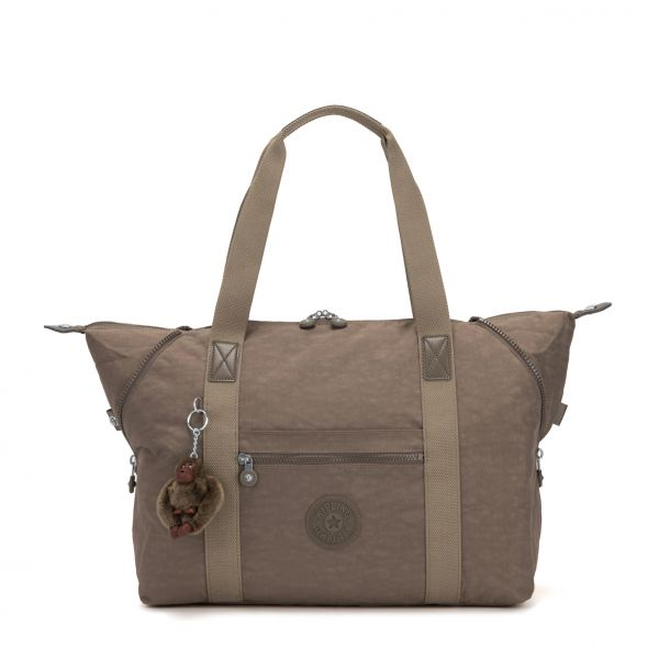 ART M True Beige TOTE by Kipling Front