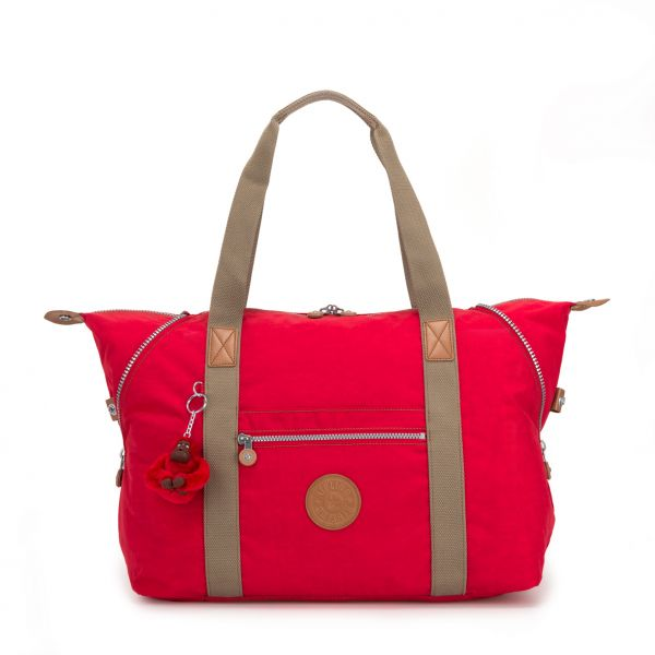 ART M True Red C TOTE by Kipling Front