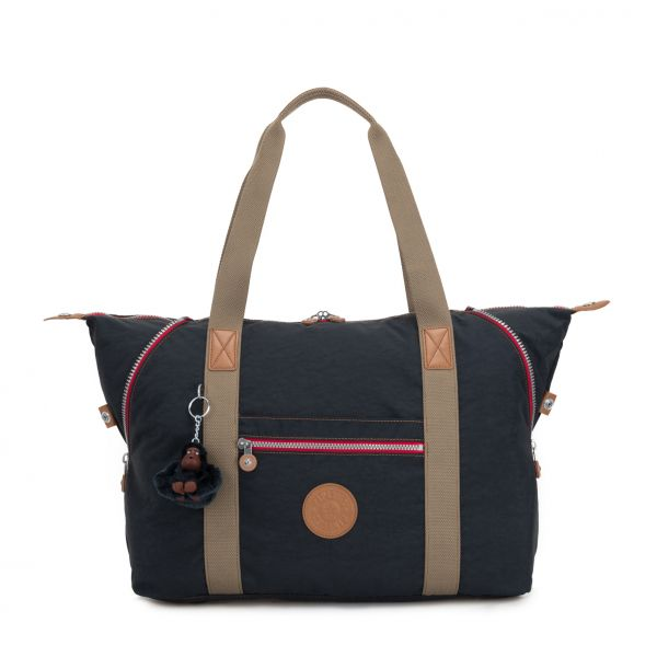 ART M True Navy C TOTE by Kipling Front