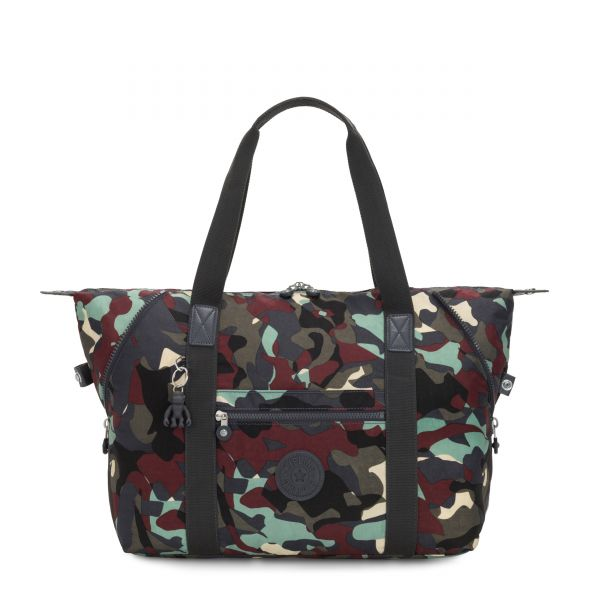 ART M Camo Large TOTE by Kipling Front