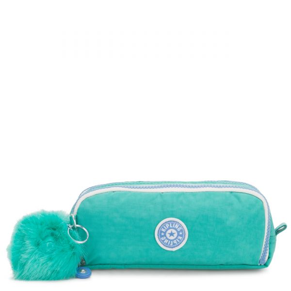 GITROY Deep Aqua C POUCHES/CASES by Kipling Front
