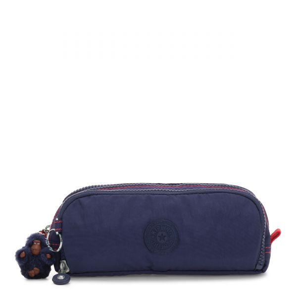 GITROY Polished Blue C POUCHES/CASES by Kipling Front