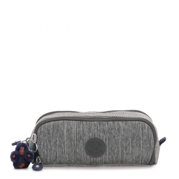 GITROY Ash Denim Bl POUCHES/CASES by Kipling Front