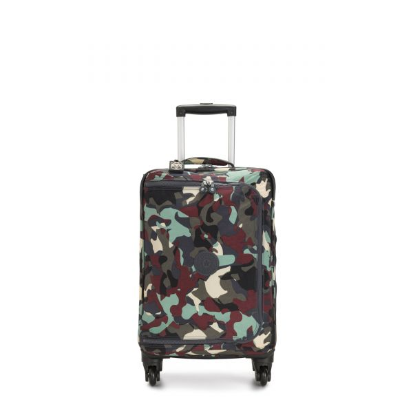 CYRAH S Camo Large CARRY ON by Kipling Front