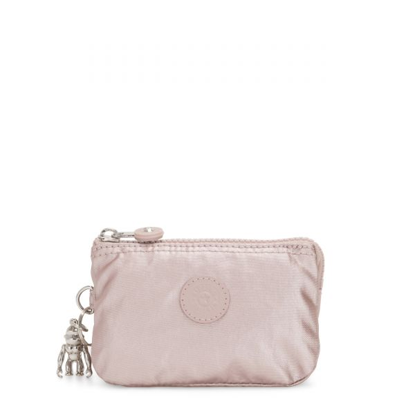 CREATIVITY S Metallic Rose POUCHES/CASES by Kipling Front