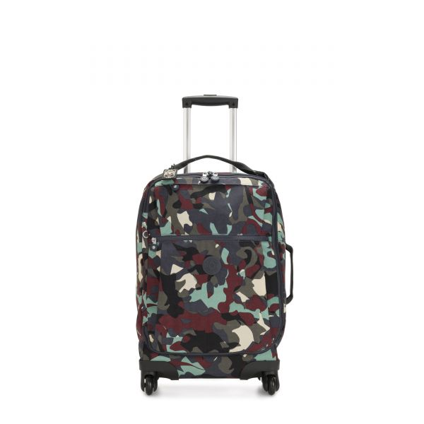 DARCEY Camo Large CARRY ON by Kipling Front