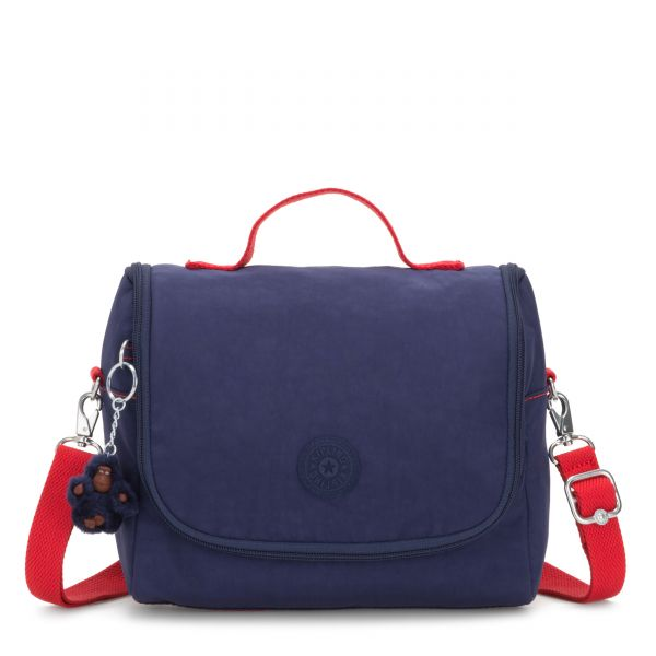 NEW KICHIROU Polished Blue C POUCHES/CASES by Kipling Front
