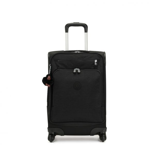 YOURI SPIN 55 True Black CARRY ON by Kipling Front