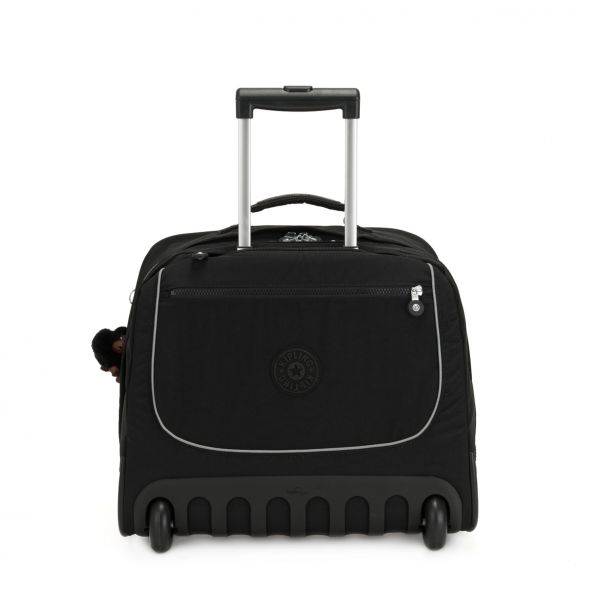 CLAS DALLIN True Black WHEELED BACKPACKS by Kipling Front