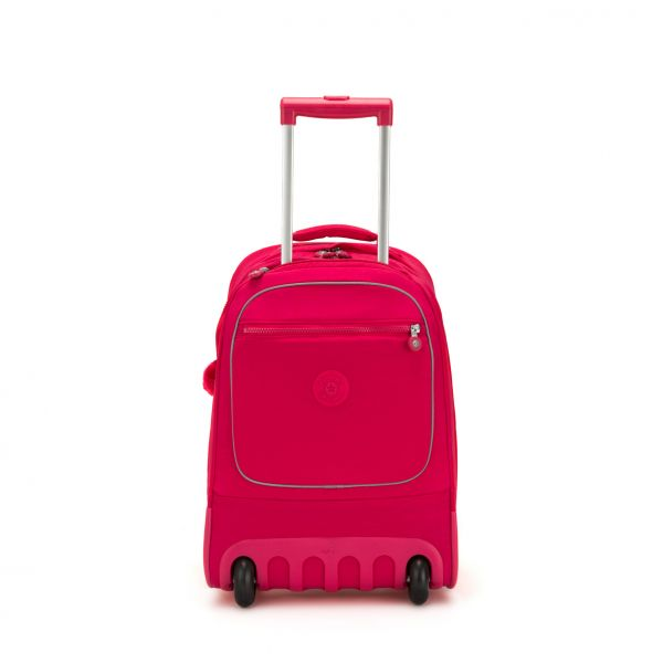 CLAS SOOBIN L True Pink WHEELED BACKPACKS by Kipling Front