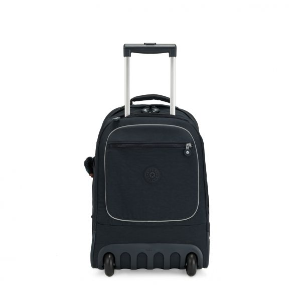 CLAS SOOBIN L True Navy WHEELED BACKPACKS by Kipling Front