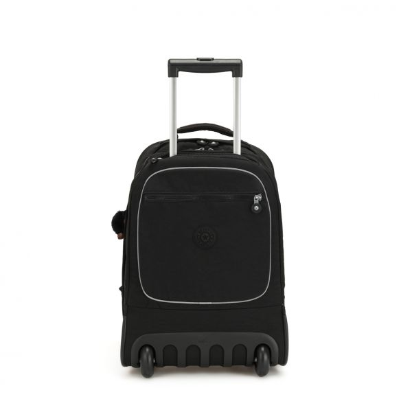 CLAS SOOBIN L True Black WHEELED BACKPACKS by Kipling Front