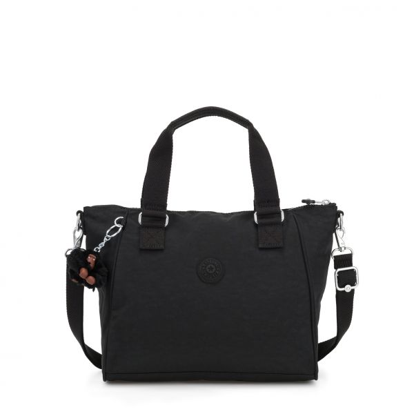 AMIEL True Black HANDBAGS by Kipling Front
