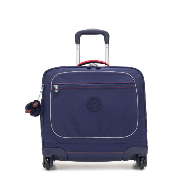 MANARY Polished Blue C CARRY ON by Kipling Front
