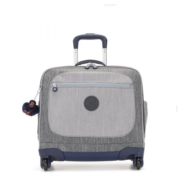 MANARY Ash Denim Bl CARRY ON by Kipling Front