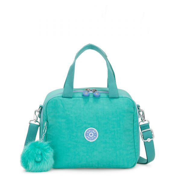 MIYO Deep Aqua C POUCHES/CASES by Kipling Front