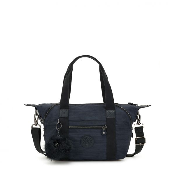 ART Mini ESSENTIAL True Dazz Navy HANDBAGS by Kipling Front