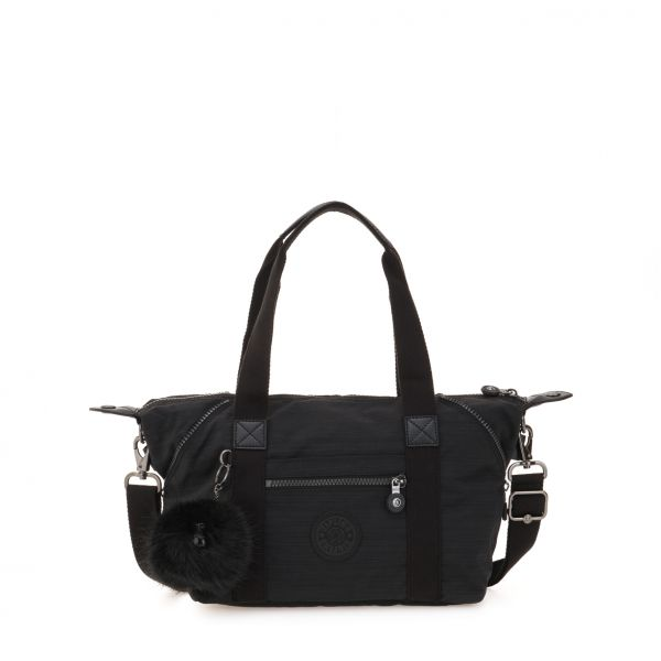 ART Mini ESSENTIAL True Dazz Black HANDBAGS by Kipling Front
