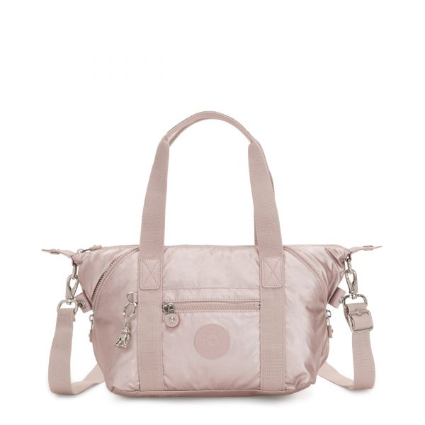 ART MINI Metallic Rose SHOULDERBAGS by Kipling Front