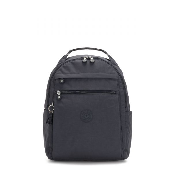 MICAH Night Grey BACKPACKS by Kipling Front