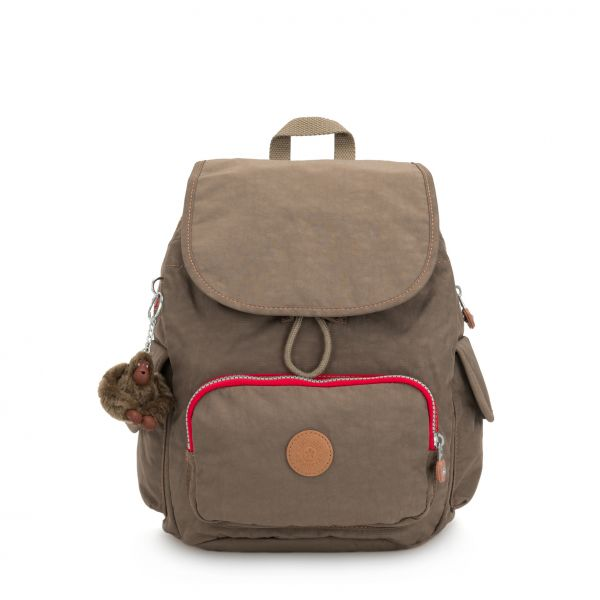 CITY PACK S ESSENTIAL True Beige C BACKPACKS by Kipling Front