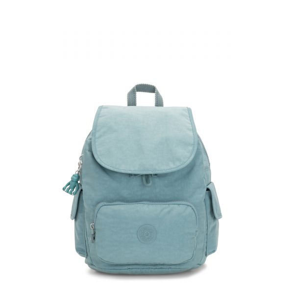 CITY PACK S Aqua Frost BACKPACKS by Kipling Front