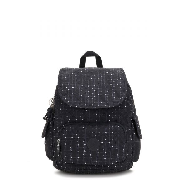 CITY PACK S Tile Print BACKPACKS by Kipling Front