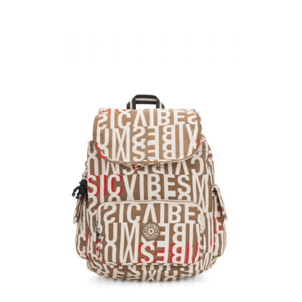 CITY PACK S Studio Print BACKPACKS by Kipling Front