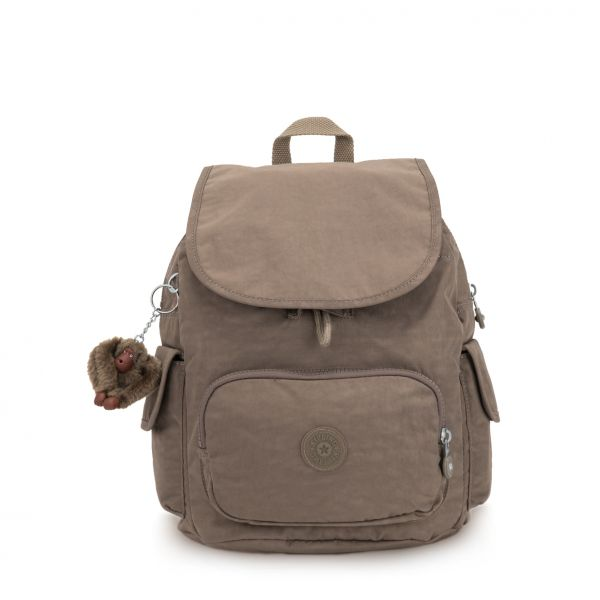 CITY PACK S True Beige BACKPACKS by Kipling Front