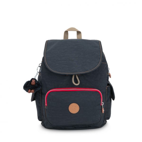 CITY PACK S True Navy C BACKPACKS by Kipling Front