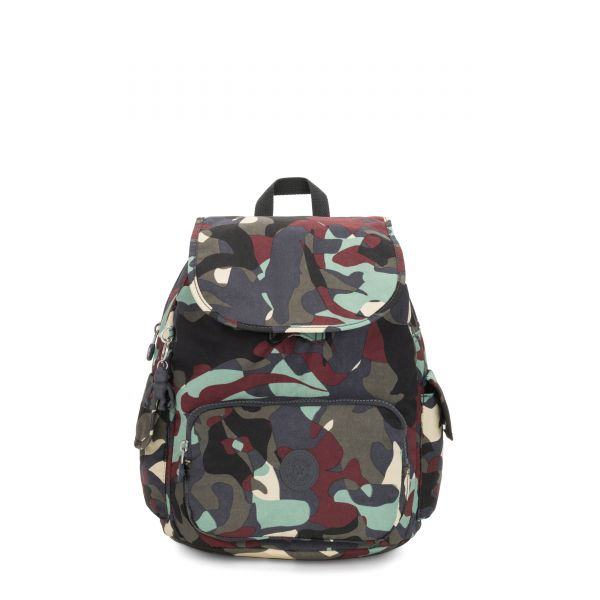 CITY PACK S Camo Large BACKPACKS by Kipling Front