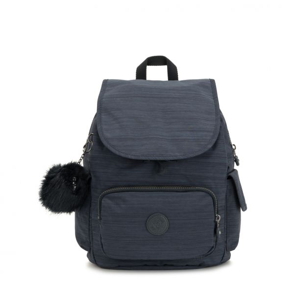 CITY PACK S True Dazz Navy BACKPACKS by Kipling Front