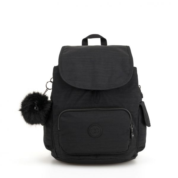 CITY PACK S True Dazz Black BACKPACKS by Kipling Front