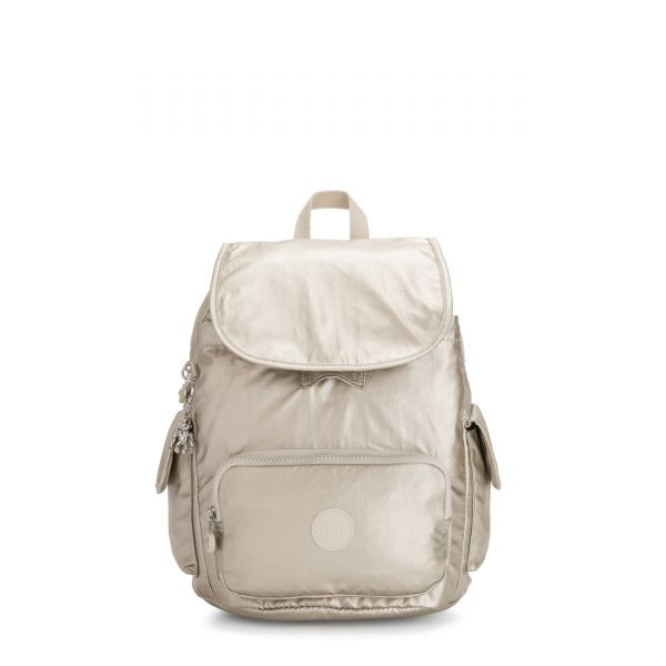 CITY PACK S Cloud Metal BACKPACKS by Kipling Front