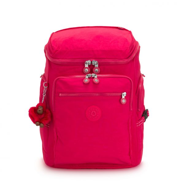 UPGRADE ESSENTIAL True Pink BACKPACKS by Kipling Front