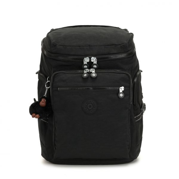 UPGRADE ESSENTIAL True Black BACKPACKS by Kipling Front