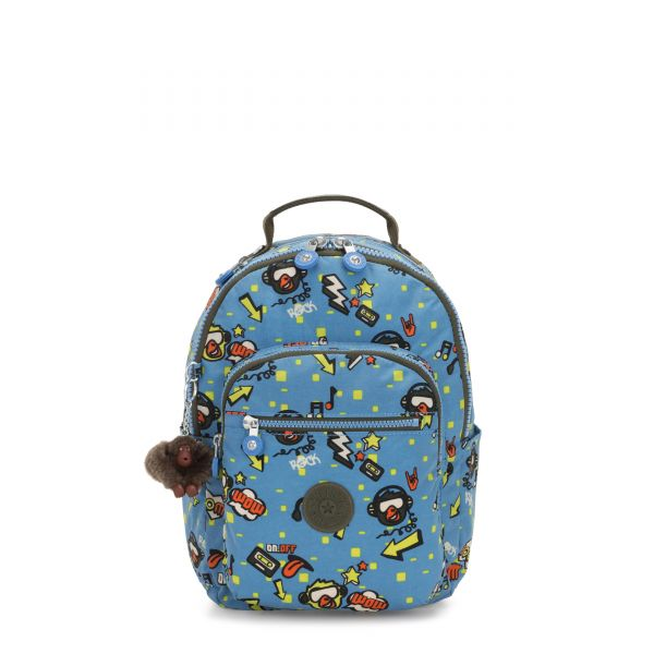 SEOUL GO S Monkey Rock BACKPACKS by Kipling Front