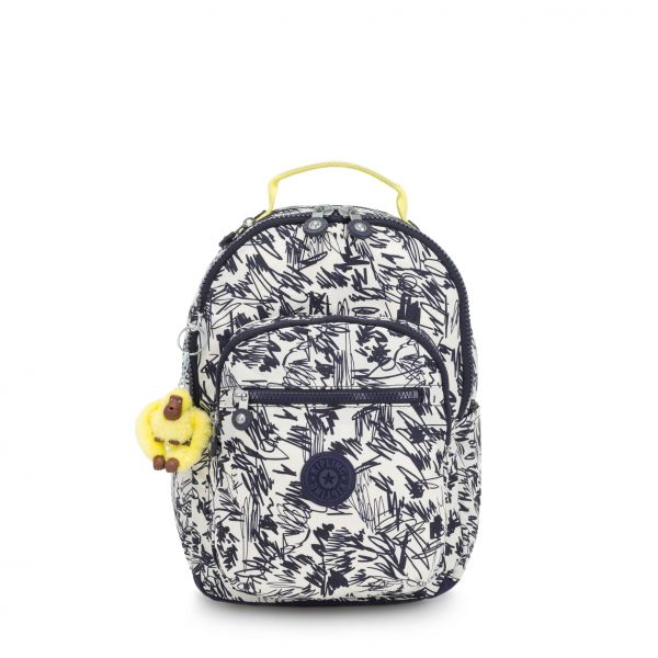 SEOUL GO S Scribble Fun Bl BACKPACKS by Kipling Front