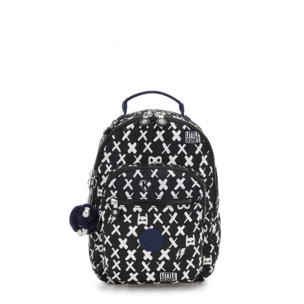 SEOUL GO S Boy Hero BACKPACKS by Kipling Front