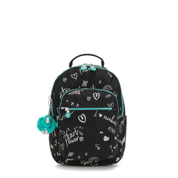 SEOUL GO S Girl Doodle BACKPACKS by Kipling Front
