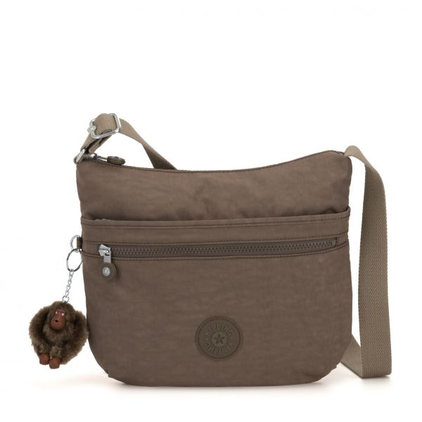 ARTO True Beige CROSSBODY by Kipling Front