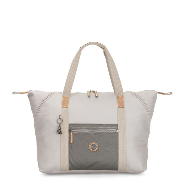 ART M Metal Block TOTE by Kipling Front